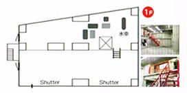 1階ガレージスタジオ